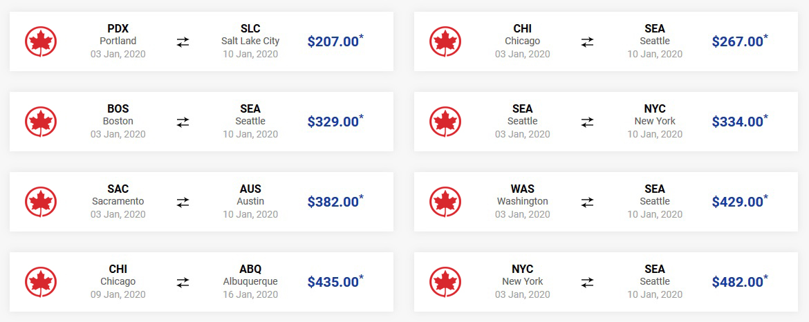 Air Canada Airlines Reservations For Luxurious Travel