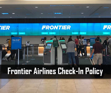 Frontier Airlines Check-In Policy