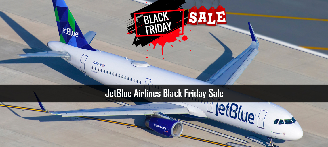JetBlue Airlines Black Friday Sale