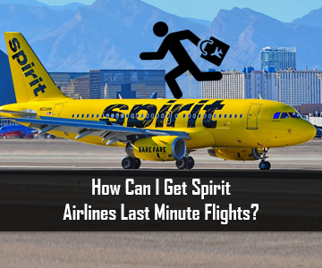 How Can I Get Spirit Airlines Last Minute Flights?
